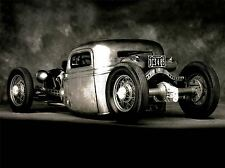 Impresión arte cartel Sport coche automóvil Foto Clásico Hot Rod Cool nofl1059