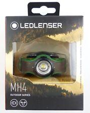NEU Ledlenser 500949 LED Kopflampe Stirnlampe MH4 Grün Angeln Jagen 200 Lumen
