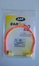 3M E-A-Rflex 28 Semi-Aural Hearing Protector, NRR 28 - 3201000 Hi Viz band