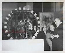 Léonard de Vinci Exposition à Paris1952 Photo de Presse Vintage