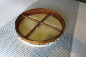 """Tuneable 18"""" Bodhran with 3 beaters and case"""