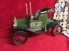Vintage Model T Ford Car Jim Beam 100 Month Old Whiskey Decanter Collectible