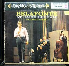 Harry Belafonte At Carnegie Hall - VG+ Living Stereo GERMAN 1959 HP TAS List