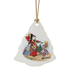 Reutter Alice In Wonderland Porcelain Christmas Tree Decoration
