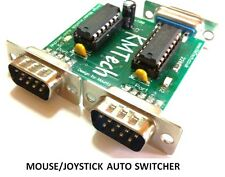 NEW IMPROVED VERSION Joystick / Mouse Auto Switcher KMTech Amiga Commodore
