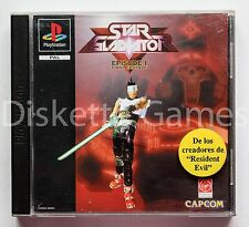 STAR GLADIATOR EPISODE I - PLAYSTATION PSX PS1 PLAY STATION 1 - PAL ESPAÑA