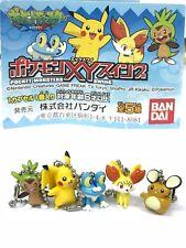 Pokemon XY Swing Key Chain Figure Full Set Bandai (5PCS)