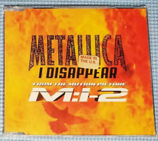 "Metallica - I Disappear - From The Movie "" Mission Impossible 2 "" - Cd Single"