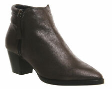 Suede Ankle Boots OFFICE Shoes for Women