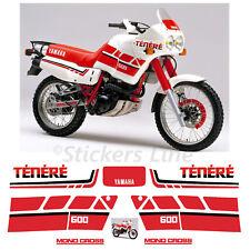 Kit adesivi Tenerè XT600Z stickers compatibili xt tenere xt600 z 3AJ 1988 Rosso