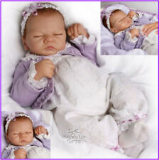 Ashton Drake Sweet Dreams Emily-Respiration-Racine-CHEVEUX BABY DOLL