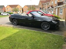 BMW 640i Convertible 2011 with 1 previous owner and FMDSH (106k miles)