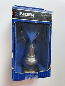 MOEN Double Robe Hook #Y4703CP Decorator Series Chrome/Polished Brass 2 Tone NOS