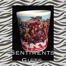 Personalised Marvel Superheroes Mug - New - Boxed