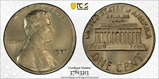 1970 1C STRUCK ON CLAD 10C PLANT PCGS GOLD SHIELD MS 64 ERROR COIN