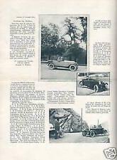 FIAT 509_IL TRIONFALE COLLAUDO_RARA PUBBLICITARIA