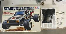 Vintage Tamiya STADIUM BLITZER 1/10 RC Car Trophy Truck + Controller & Extras