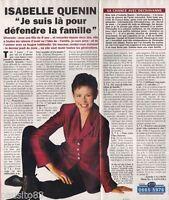 Coupure de presse Clipping 1994 Isabelle Quenin  (1 page 1/3)