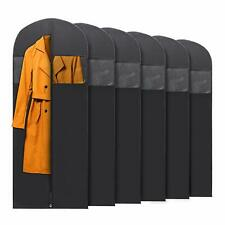 6x PLX Hanging Garment Bags for Storage Travel Suit Bag Dress Shirt Coat 60 Inch