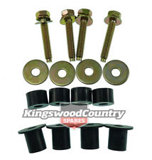 Holden Alloy Radiator Fitting Kit Mount Bolts V8 6cyl HQ HJ HX HZ