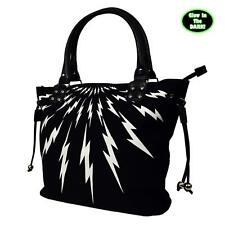 Banned Thunderbolt Glow In The Dark Tote Bag