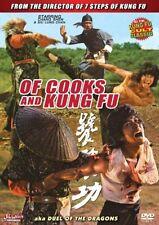 of cooks and kung fu -Hong Kong RARE Kung Fu Martial Arts Action movie NEW