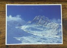 DAVE NEWBOULD PICTURE POSTCARD P99 TRYFAN AND BRISTLY RIDGE