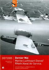 Dutch Decals 1/72 DORNIER WAL in Royal Netherlands Navy Service