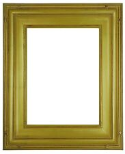 9 x 12 Picture Frame HandApplied Gold Leaf Finish Gallery Style Awesome Quality