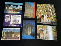 Vintage postcard lot- 1980's Las Vegas, Broadway, Paramount Dallas, Merv Griffin
