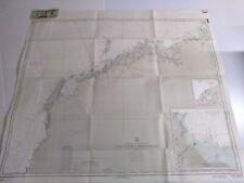 Antique Vintage  Navy Nautical Chart Aeronautical Map    Australia  Cape Cuvier