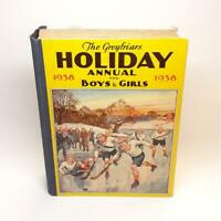 1938 Greyfriars Holiday Annual First Edition Vintage Hardcover for Boys & Girls