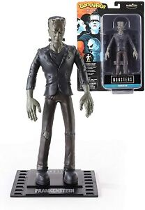 Bendyfigs Frankenstein Monster 19cm with Stand, The Noble Collection, Figurine