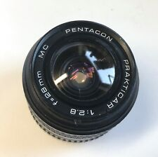 PRACTICAR PENTACON  1:2.8. F28mm MC LENS  SLR DSLR