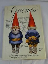 "Vintage 70s ""Gnomes� Rien Poortvliet Book Hardcover Dust Jacket Excellent"