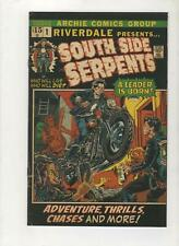 Riverdale Presents South Serpents #1, Homage Variant, Ltd 300, NM 9.4,1st,2021