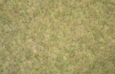 NOCH HO scale ~ LONG GRASS MAT ~ 'FIELD YELLOW' #00406
