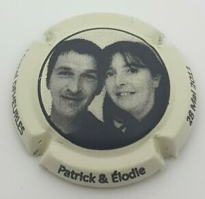 Capsule de champagne Deheurles Patrick et Elodie.  TO