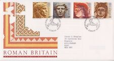 GB ROYAL MAIL FDC FIRST DAY COVER 1993 ROMAN BRITAIN STAMP SET CAERLLION PMK