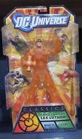 """DCUC Lex Luthor Orange Lantern DC Universe Classics 6"""" Action Figure 2010 New"""
