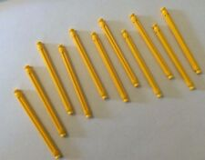 "lot of 11 K'Nex Standard Yellow 3 7/16"" Rods-replacement parts-combined shipping"