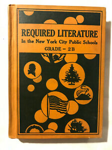 Vintage 1932 New York City Public School Required Literature Book Fairy Tales