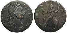 UK 1775 George III Non-Regal Farthing