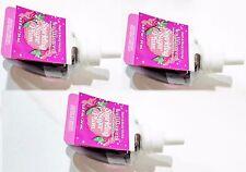 3 Bath & Body Works SPARKLING SUGAR PLUM Wallflower Bulb Scented Oil SUGARPLUM