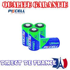 4 Piles PKCELL ULTRA PHOTO CR2 Lithium 3V QUALITE GARANTIE