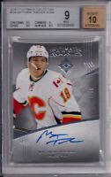 16/17 Ultimate Collection Rookie/Auto Matthew Tkachuk BGS 9 Mint /99