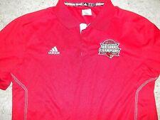 Louisville Cardinals Basketball Adidas Team Issued Ncaa Champs Peyton Siva Polo