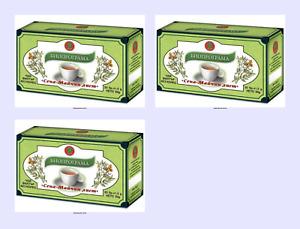 Bioprograma 3 packets Senna tea, 20 bags per packet X 1.5 g