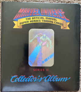 1991 Marvel Universe Series 2 OFFICIAL BINDER VHTG VHTF Rare Stan Lee Non Auto
