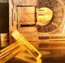 Ambergris White Gold 1ml Sample Size Natural Ambre Gris Anbar Ambra Perfume Oil